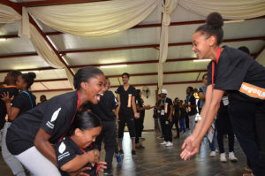 Youth demonstrate trust at the 2016 Jhb Student Council conference