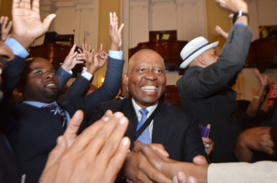 Herman Mashaba elected Mayor of Johannesburg 2016