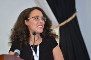 Melissa Sibindi addresses the SEIFSA MEIndaba 2017