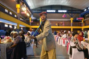 Seniors dancing at COJ event