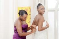 Dressing for wedding