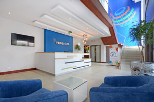 Pepsico reception area
