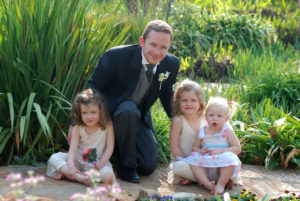 Best man with children