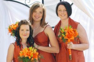 Bridesmaids at Shae and Grant wedding
